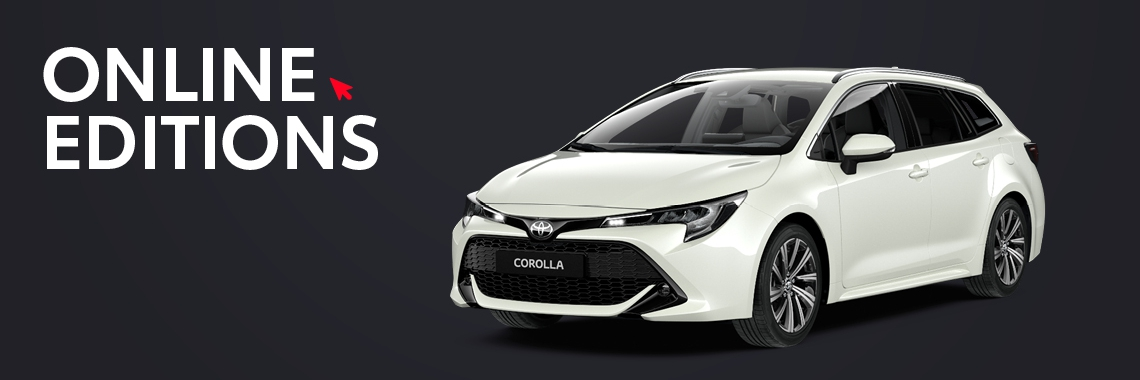 Corolla Touring Sports Private Lease Online Editions